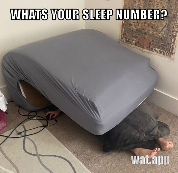 WHATS YOUR SLEEP NUMBER?