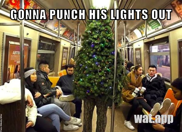 GONNA PUNCH HIS LIGHTS OUT