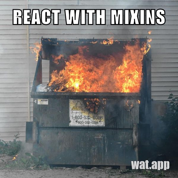 REACT WITH MIXINS
